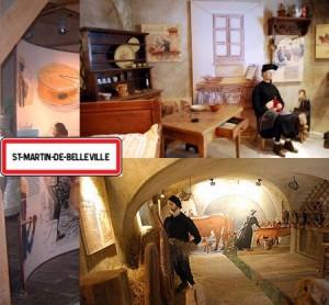 musée de Saint Martin station les menuires