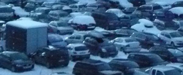 tous les parkings couverts de la station de ski Les Menuires